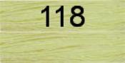 Нитки бытовые IDEAL 40/2 366м 100% п/э, цв.118 св.желтый