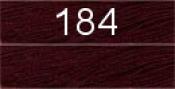 Нитки бытовые IDEAL 40/2 366м 100% п/э, цв.184 бордовый