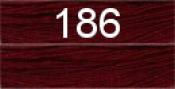 Нитки бытовые IDEAL 40/2 366м 100% п/э, цв.186 бордовый