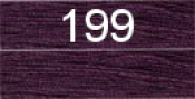 Нитки бытовые IDEAL 40/2 366м 100% п/э, цв.199 фиолетовый