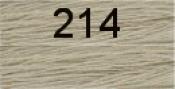 Нитки бытовые IDEAL 40/2 366м 100% п/э, цв.214 серый