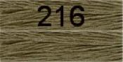 Нитки бытовые IDEAL 40/2 366м 100% п/э, цв.216 серый