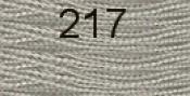 Нитки бытовые IDEAL 40/2 366м 100% п/э, цв.217 серый