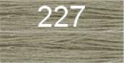 Нитки бытовые IDEAL 40/2 366м 100% п/э, цв.227 серый
