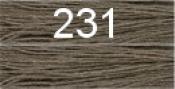 Нитки бытовые IDEAL 40/2 366м 100% п/э, цв.231 серый