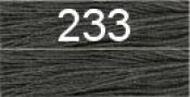 Нитки бытовые IDEAL 40/2 366м 100% п/э, цв.233 серый