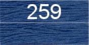 Нитки бытовые IDEAL 40/2 366м 100% п/э, цв.259 синий