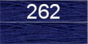 Нитки бытовые IDEAL 40/2 366м 100% п/э, цв.262 синий