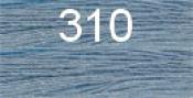 Нитки бытовые IDEAL 40/2 366м 100% п/э, цв.310 голубой