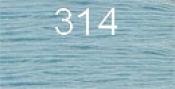Нитки бытовые IDEAL 40/2 366м 100% п/э, цв.314 голубой
