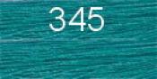 Нитки бытовые IDEAL 40/2 366м 100% п/э, цв.345 голубой