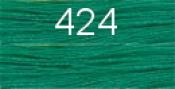 Нитки бытовые IDEAL 40/2 366м 100% п/э, цв.424 св.зеленый