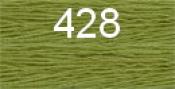 Нитки бытовые IDEAL 40/2 366м 100% п/э, цв.428 св.зеленый
