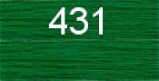 Нитки бытовые IDEAL 40/2 366м 100% п/э, цв.431 зеленый