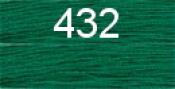 Нитки бытовые IDEAL 40/2 366м 100% п/э, цв.432 зеленый