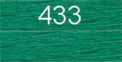 Нитки бытовые IDEAL 40/2 366м 100% п/э, цв.433 зеленый