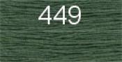 Нитки бытовые IDEAL 40/2 366м 100% п/э, цв.449 зеленый