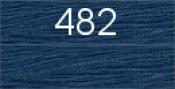 Нитки бытовые IDEAL 40/2 366м 100% п/э, цв.482 синий