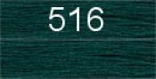 Нитки бытовые IDEAL 40/2 366м 100% п/э, цв.516 зеленый