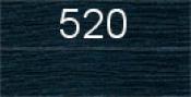 Нитки бытовые IDEAL 40/2 366м 100% п/э, цв.520 синий
