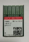Игла Groz-Beckert DPx17 №100