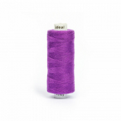 Нитки бытовые IDEAL 40/2 366м 100% п/э, цв.195 фиолетовый