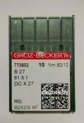 Игла Groz-Beckert B27 №80