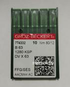 Игла Groz-Beckert B63 №80 FFG/SES