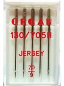 Иглы ORGAN JERSEY №70 130/705 H для вязаного трикотажа