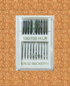 Игла Groz-beckert 130/705H LR №100 (10 шт/уп)