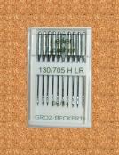 Игла Groz-beckert 130/705H LR №90 (10 шт/уп)